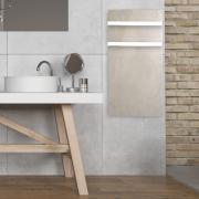 DUAL KHERR SMART 2.0 - Sèche-serviettes sable blanc ambiance