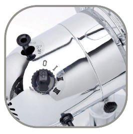 Ventilateur de table Chromy 30/40 cm zoom