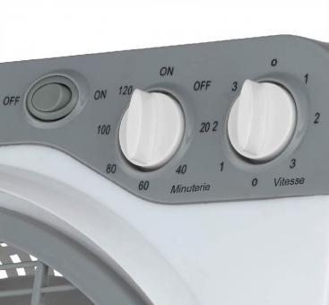 Ventilateur à poser Box Slim 30cm PACHO controller