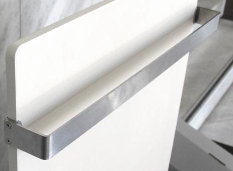 DUAL KHERR SMART 2.0 - Sèche-serviettes barre inox