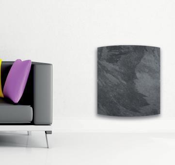 Radiateur carré DUAL KHERR CURVE 2.0 Silex ambiance