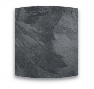 Radiateur carré DUAL KHERR CURVE 2.0 Silex Dark face