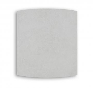 Radiateur carré DUAL KHERR CURVE 2.0 Silex Pearl face