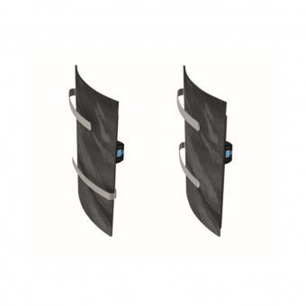 Sèche-serviette vertial DUAL KHERR CURVE 2.0 2 barres
