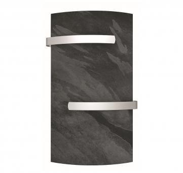 Sèche-serviette vertial DUAL KHERR CURVE 2.0 Silex Dark face