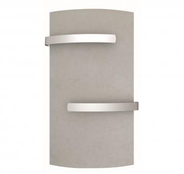 Sèche-serviette vertial DUAL KHERR CURVE 2.0 Silex Pearl face