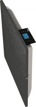 Radiateur Dual Kherr Smart profil droit Ardoise noire