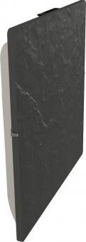Radiateur Dual Kherr Smart profil gauche Ardoise noire
