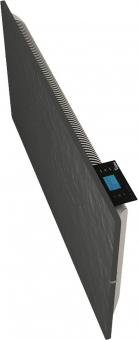 Radiateur dual kherr 2.0 Smart Ardoise noire profil droit