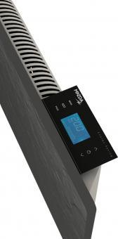 Radiateur dual kherr 2.0 Smart Ardoise noire haut contrôleur