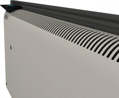 Radiateur dual kherr 2.0 Smart Ardoise noire dos haut