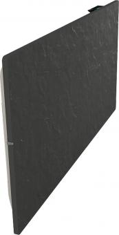 Radiateur dual kherr 2.0 Smart Ardoise noire profil gauche