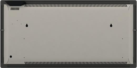 Radiateur dual kherr 2.0 Smart Ardoise noire dos entier