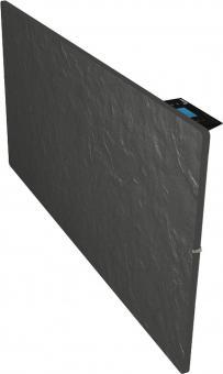 Radiateur dual kherr 2.0 Smart Ardoise noire profil droit 2