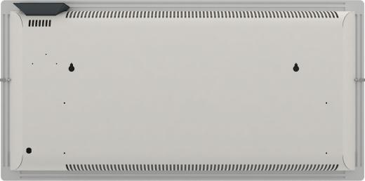 Radiateur dual kherr 2.0 Smart Sable blanc dos entier