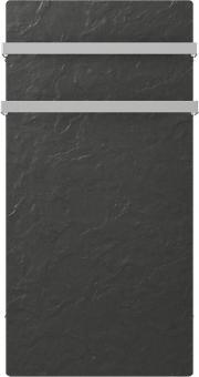 DUAL KHERR SMART 2.0 - Sèche-serviettes ardoise noire face