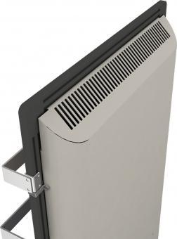 DUAL KHERR SMART 2.0 - Sèche-serviettes ardoise noire dos haut