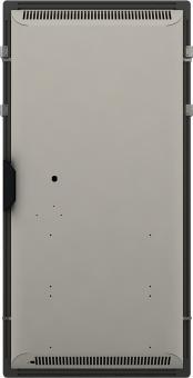 DUAL KHERR SMART 2.0 - Sèche-serviettes ardoise noire dos