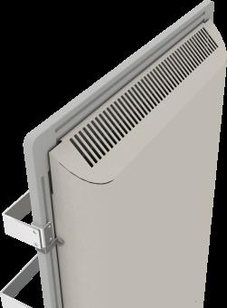 DUAL KHERR SMART 2.0 - Sèche-serviettes sable blanc dos haut