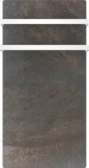 DUAL KHERR SMART 2.0 - Sèche-serviettes terre lunaire face