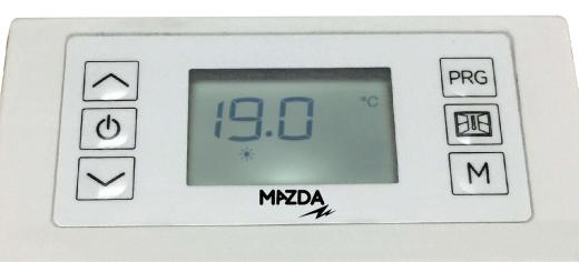 RAIDAO - Panneau rayonnant aluminium contrôleur