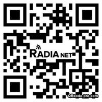 QR Code RADIANET